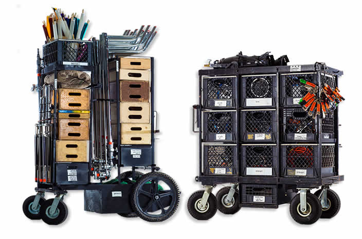 in house grip electric 2 ton gear package for rent in dtla film and photo studio