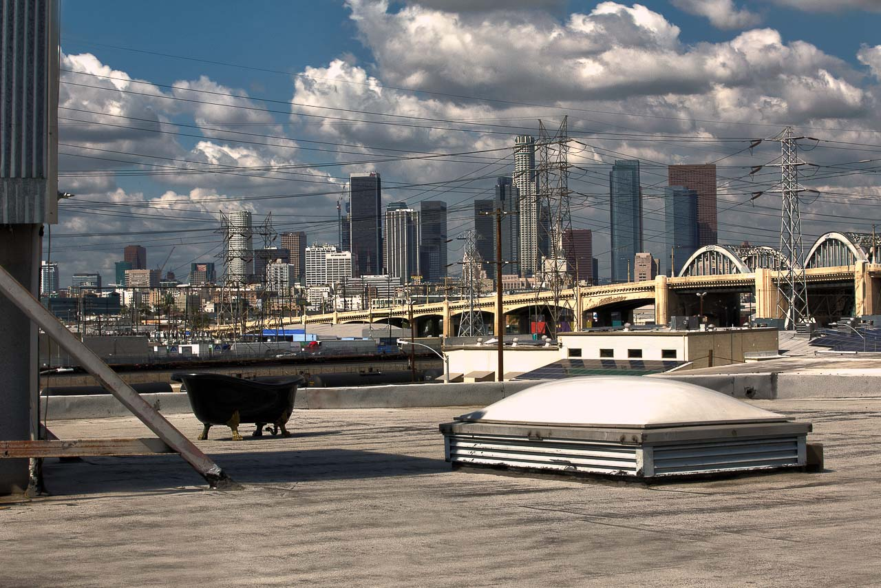 rooftop shoot location in dtla for film photo production shooting