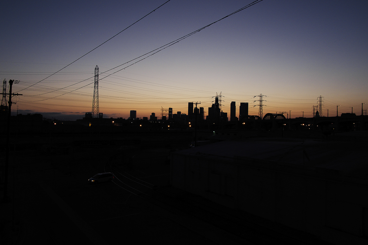 goldne hour rooftop film photography location los angeles warehouse