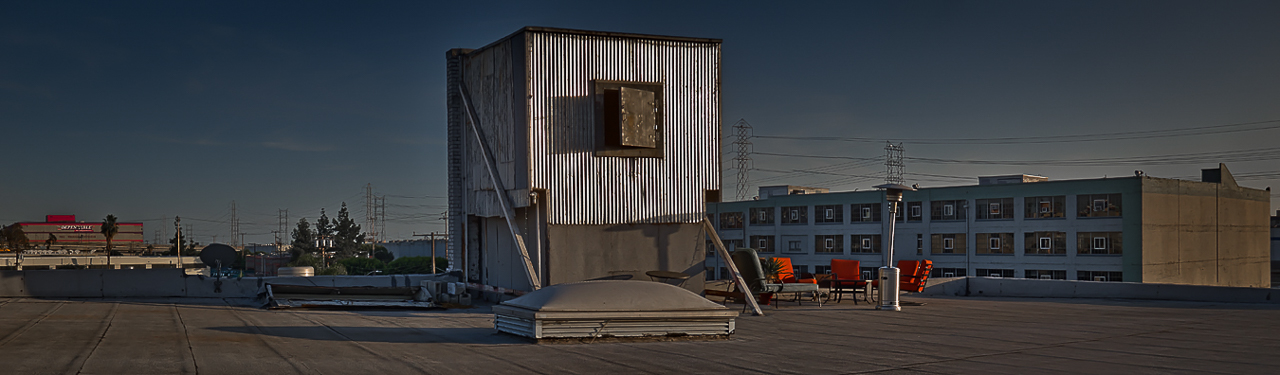 urban industrial warehouse rooftop shoot location la for film and photo production