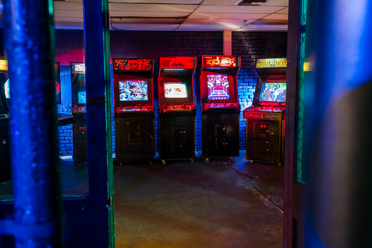 Arcade Set - Film and Photo Studio in LA Industrial Warehouse