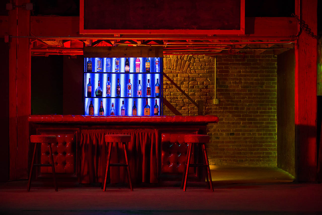 Studio Bar Set in Los Angeles - Film and Photo Studio