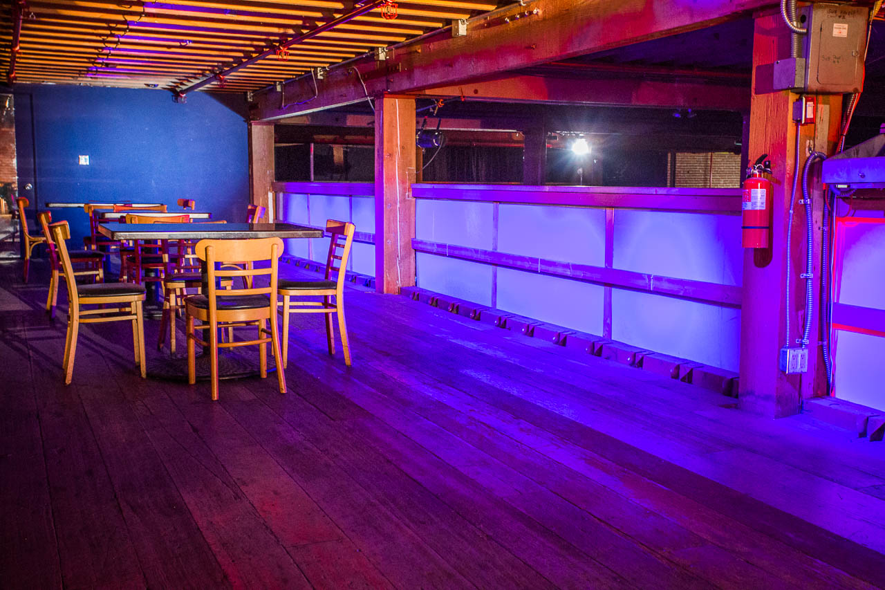 Underground Club for rent as Film and Photo Creative Space in LA