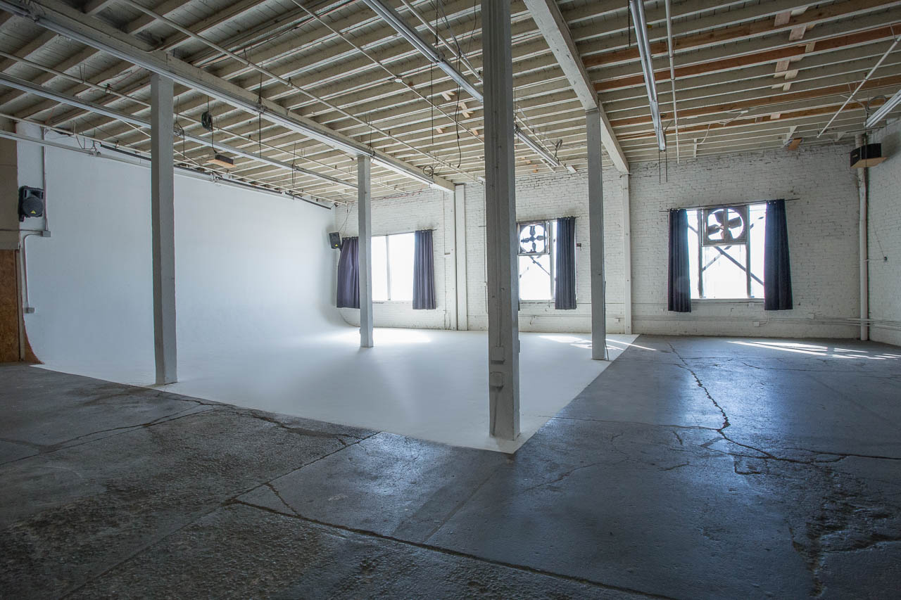 downtown la film and photo studio with cyc wall natural night and amenities