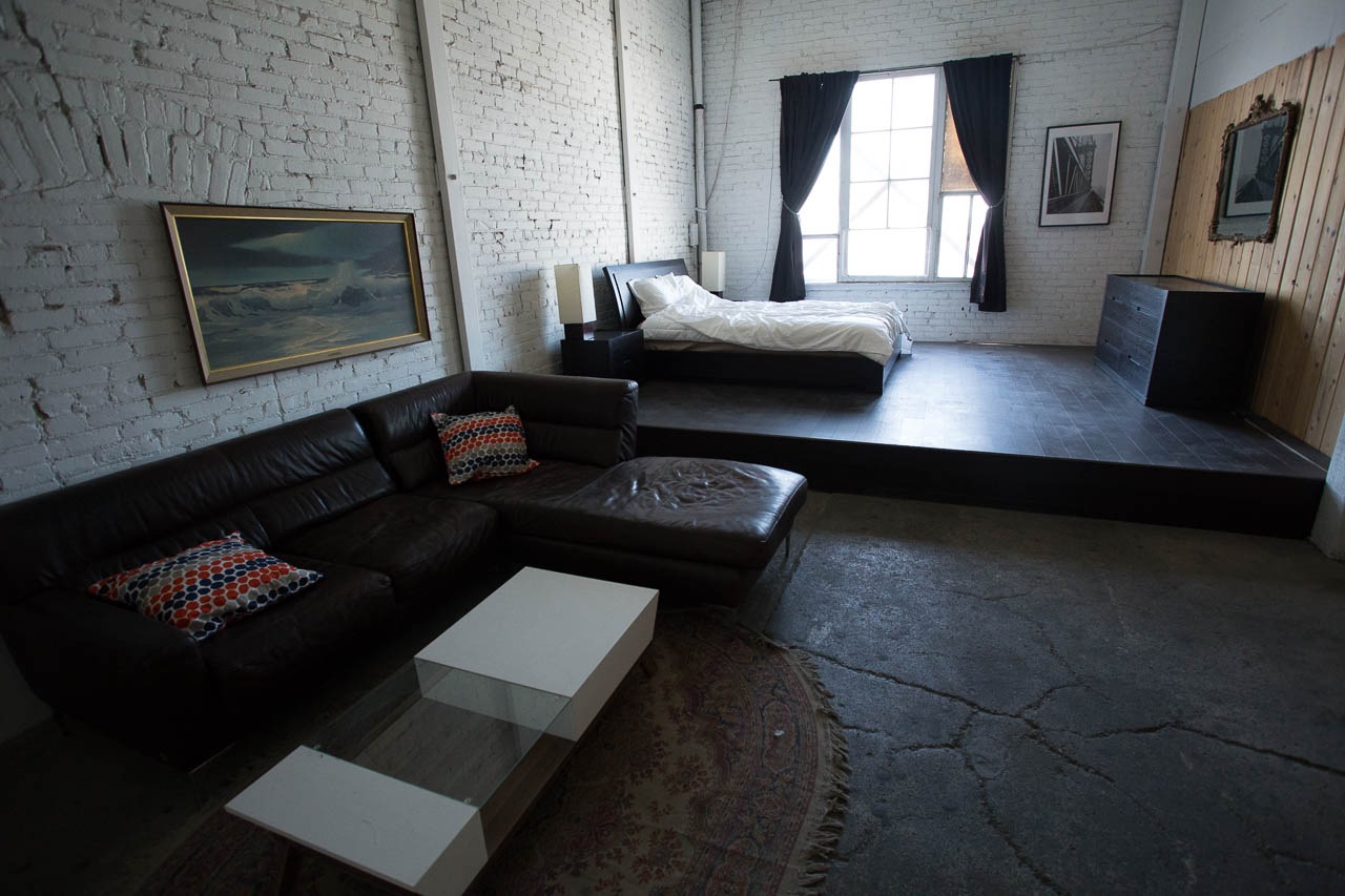 loft style locations for filming