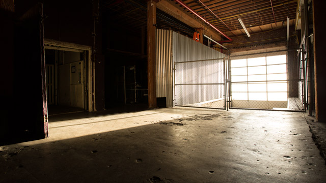 loading dock in full service la film studio with negotiable rates