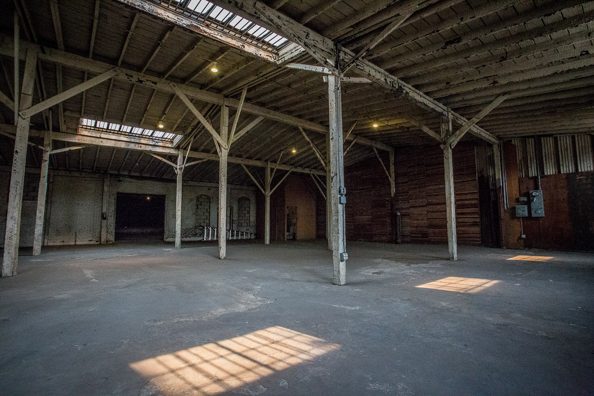 warehouse for filming in dtla