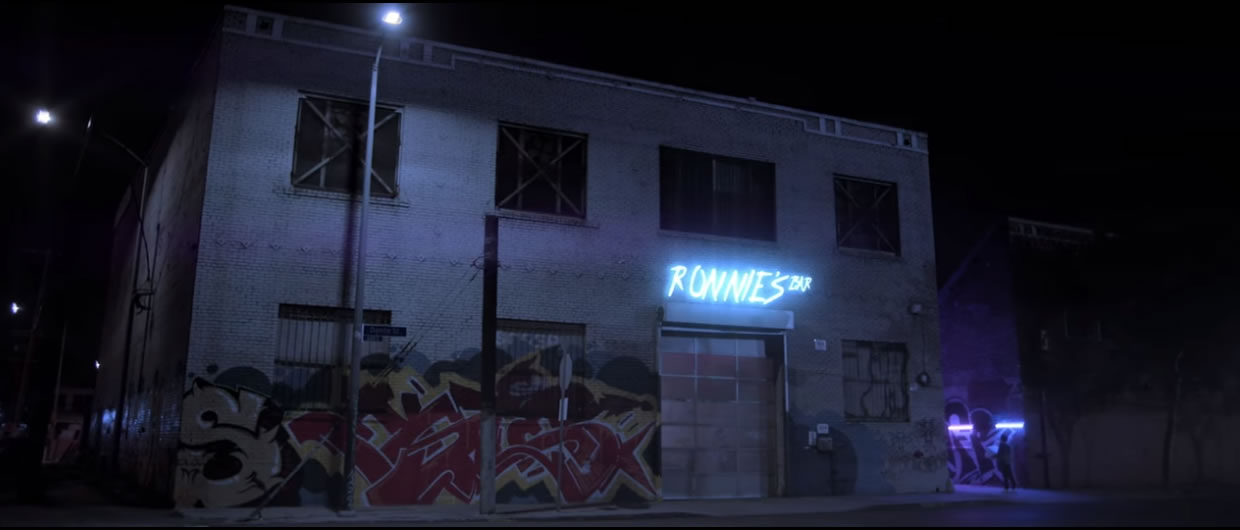warehouse for music videos